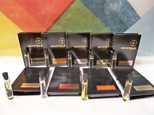 LOT OF 9 FLORAL MONTALE SAMPLES EDP 9 x 0.07 OZ / 9 x 2 ML NEW UNISEX