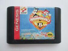 Animaniacs (Sega Genesis, 1994) Game Only--Tested (NTSC/US/CA)