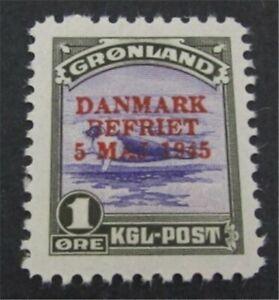 nystamps Greenland Stamp # 19 Mint OG NH $70   L23y264