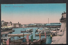 Malta Postcard - The Grand Harbour  Q478
