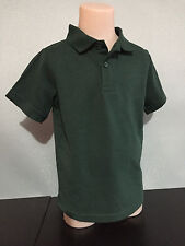 BNWT Boys/Girls Sz 14 Target Schoolwear Brand Bottle Green Short Sleeve Polo Top