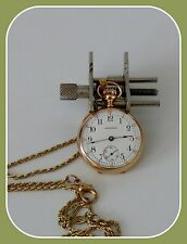 ANTIQUE  WALTHAM 1904 POCKET/PENDANT WATCH FOR LADIES 14K SOLID GOLD HIGH GRADE