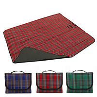 Extra Large Waterproof Picnic Blanket Rug Travel Outdoor Beach Camping Mat