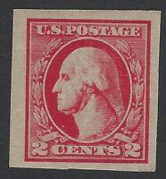 US Stamps - Scott # 532 - Type IV - Imperf Washington - MH               (H-295)