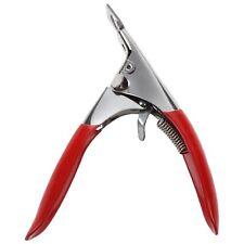 T8 Red Acrylic UV Gel False Nail Art Tips Edge Cutter Clipper Manicure Tool G