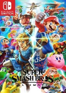 Super Smash Bros Ultimate - Jeu Nintendo Switch - Lire description