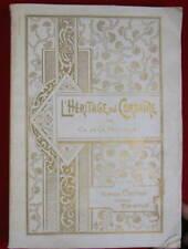 Ch. de La Paquerie. L'Héritage du corsaire, vers 1902