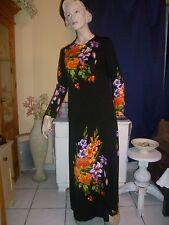 Vintage-Kleider für Damen aus Polyester mit Hippy-Look