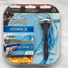 "Assassin's Creed Syndicate razor Wilkinson Hydro 3 Limited Edition ""NEW"" RARE"