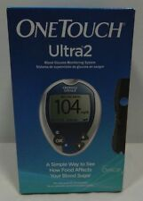 One Touch Ultra 2 Blood Glucose Monitoring System Meter Monitor & Delica Lancets