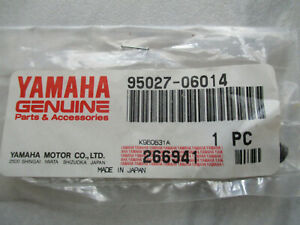 Yamaha  Original Schraube  M 6 x 14 mm , SW 8 mm , Teile Nr . 95027 - 06014 ,
