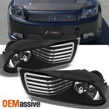 2005-2010 Scion TC Bumper Fog Lights Driving Lamps w/Switch+Bulbs+Bezel+Harness