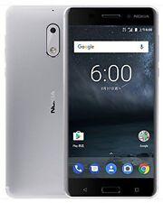 NOKIA 6 (TA-1003) 4/32GB,Unlocked,Dual SIM,5.5-inch,4G LTE,16MP,Sliver