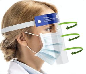 Gesichtsschutz Spuckschutz Schutzmaske Schutzvisier Gesichtsschild Visier Maske