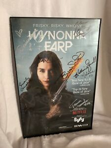 Wynonna Earp SDCC 2017 Signed Poster Scrofano with Frame