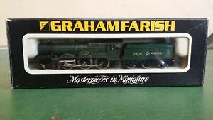 Graham Farish N gauge 1444 GWR 4-6-0 Castle Class 7029 Clun Castle, needs attn