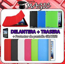 SMART COVER + funda TRASERA TPU  compatible nuevo iPad 3 y 2 carcasa protectora