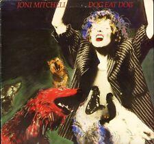 JONI MITCHELL dog eat dog GEF 26455 A1/B1 1st press uk geffen 1985 LP PS EX/EX