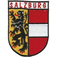 Aufnaeher Patches Applikation Wappen 6 x 8 cm Oesterreich Salzburg 00468