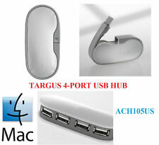 TARGUS 4 PORT USB HUB FOR MAC - ACH105US , 480 MBPS
