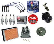 Cap-Rotor-NGK Wires-Spark Plug-Filter Kit Honda Civic EG EK CX DX LX 1.6L