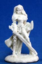 1x FINARI PALADIN - BONES REAPER figurine miniature jdr d&d rpg pathfinder 77077