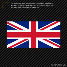 "4"" Flag of the United Kingdom British Sticker Die Cut Decal UK Royal Union Jack"