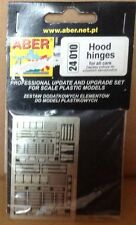 PHotoetched parts HOOD HINGESMFOR ALL CARS - ABER (24 010)