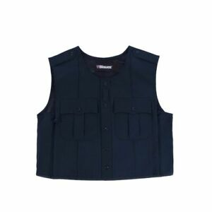 Blauer 8370 Polyester ARMORskin Uniform Vest Carrier Navy L/Tall NWOT