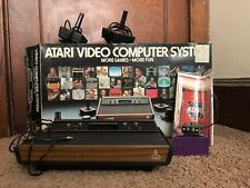 Atari 2600 4-Switch Console CX-2600A Complete in Box!