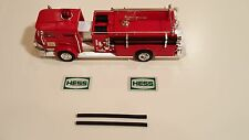 """""""1970  HESS  FIRE TRUCK HOSE REPLACEMENT  PARTS """""""