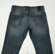 Hugo Boss Maine Mens Jeans Blue Straight Fit W33 L29 Altered Length RRP£140