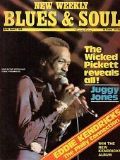 Eddie Kendricks Blues & Soul Issue 182 1976    Wilson Pickett    Gil Scott-Heron