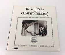 """The Art Of Noise Close To The Edit 7"""" Vinyl Single Record"""