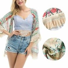 Unbranded Kimono Floral Jumpers & Cardigans for Women