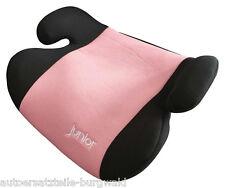 Kindersitzerhöhung Max 134 HDPE nach ECE R44/04  schwarz/rosa