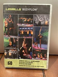 Les Mills Body Flow Release #60 WITH DVD CD BOOKLET