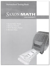 Saxon Math Intermediate 5 Homeschool Testing Book Tests