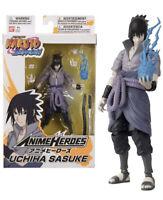 BANDAI 36902 Anime Heroes-Naruto 15cm Uchiha Sasuke Action Figure  - NEW