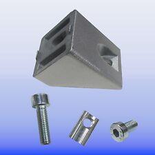 45 Grad Verbinder für Alu- Profil 40  Nut 8 Item - Raster - Nutprofil Aluprofil