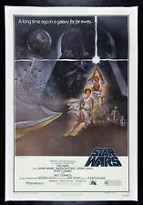 STAR WARS ✯ CineMasterpieces 1977 STYLE A LINEN BACKED ORIGINAL MOVIE POSTER