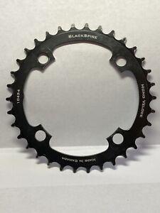 BlackSpire Mono Veloce chainring, 104BCD x 34t - black Single Speed