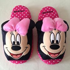 Disney Mickey Mouse Minnie Mouse Slippers Shoes Sandal US 6-10, UK 4-8, EU 36-42