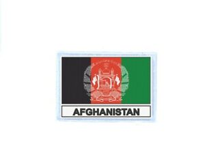 Patch badge iron on glue flag country AFG afghanistan