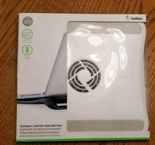 BELKIN COOLSPOT USB-POWERED LAPTOP COOLING PAD WHITE PADS DESKTOP