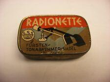 Phonograph Gramophone Needle Tin - Assortment - Radionette