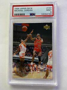 1995 Upper Deck Michael Jordan #137 PSA 9 Mint HOF