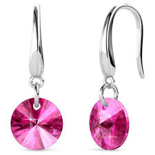Timeless Crystal Drop Earrings Pink Ft. Crystals From Swarovski KCE879PK