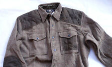 Ralph Lauren RRL DOUBLE RL YAKIMA WORK SPORT WOOL SHIRT-Jacket Gr XL