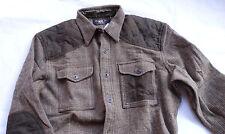 Ralph Lauren rrl double rl yakima work sport wool shirt-Jacket taille xl